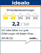 Meinung zum Shop derenergiesparladen.de bei idealo.de
