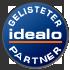 Unser Onlineshop ist Idealo Partner