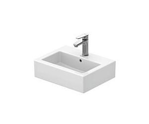 duravit vero handwaschbecken 45 x 35 cm 070445 00 ab. Black Bedroom Furniture Sets. Home Design Ideas
